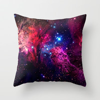 Galaxy! Throw Pillow by Matt Borchert