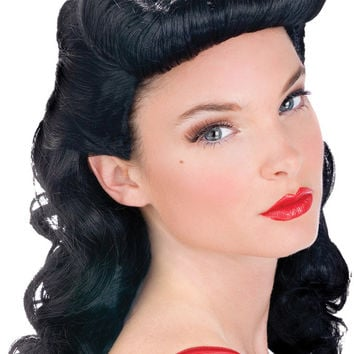 costume accessory: pin up babe wig