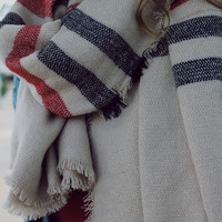 Trip to Boston Blanket Scarf