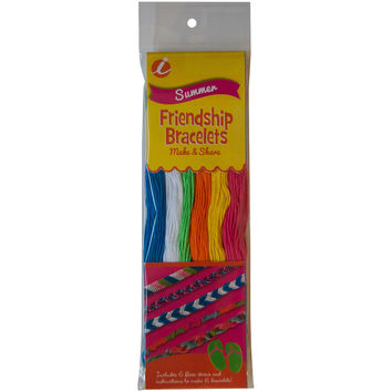 Summer Friendship Bracelets Floss Pack 6/Pkg-