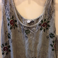 Vintage Indie Maxi Dress by KaitlinsThings on Etsy