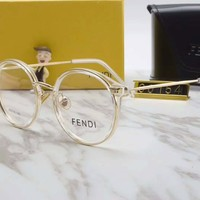 FENDI Women Fashion Popular Shades Eyeglasses Glasses Sunglasses Black G-A-SDYJ