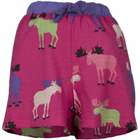 Raspberry Moose Women's Boxer Shorts