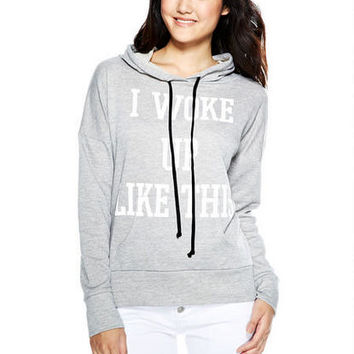 I Woke Up Like This Tunic Hoodie