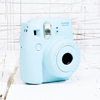 Fujifilm Instax Mini 8 Camera in Blue - Urban Outfitters