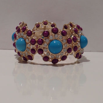 Deep Water Purple Bracelet