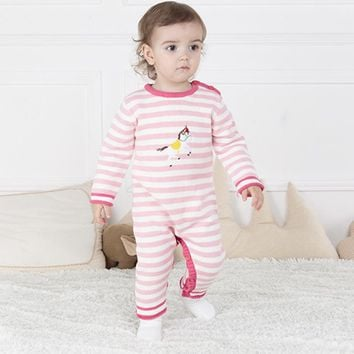 Christmas Baby Clothes ,cotton Infantil One Pieces Jumpsuit Knitting Rompers Boys  Animal Clothes 6-24M