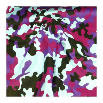 Pink & purple camouflage camo steering wheel cover car cotton multi coloured girly girl army
