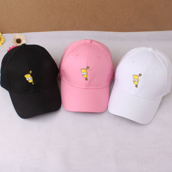 Cartoons Lovely Hats Cap Korean Baseball Cap [10452594439]