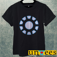 Arc Reactor Iron Man Men T Shirt
