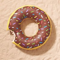 Chocolate Donut Pool Float - Urban Outfitters