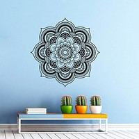 Mandala Yoga Wall Decal Vinyl Sticker Wall Decor Home Interior Design Art Murals vk11