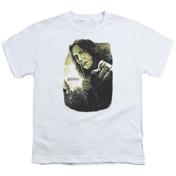 Harry Potter - Snape Poster Short Sleeve Youth 18/1 Shirt Officially Licensed T-Shirt