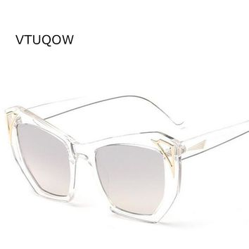 New Trendy Summer Sunglasses Women Fashion Holiday Necessary Cat Eye Sunglasses Women Brand Protection Eyewear Gorgeous Glasses