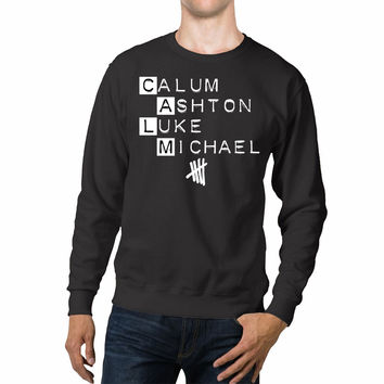 CALM 5 Seconds Of Summer Unisex Sweaters - 54R Sweater