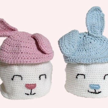 Baby Bunny Hat,  Baby Photo Prop, Crochet Hat