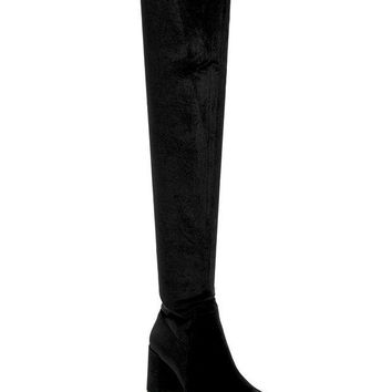 Jeffrey Campbell | Cienega Velvet Over-the-Knee Boot | Nordstrom Rack