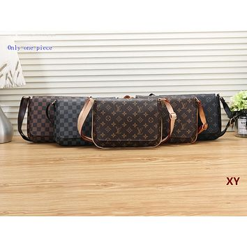 LV Fashion Ladies Printed Single Shoulder Bag Hot Shopping Bag