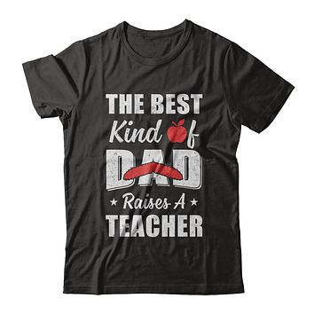 Best Kind Of Dad Raises A Teacher Bearded Fathers Day
