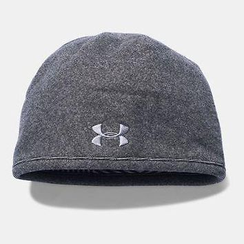 Under Armour Mens UA Survivor Fleece Infrared Beanie