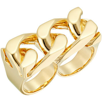 Marc Jacobs Respect Double Link Ring