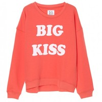 Big Kiss Loose Fit Sweat | Sport Luxe Women's Clothing | Zoe Karssen - Hunters and Gatherers