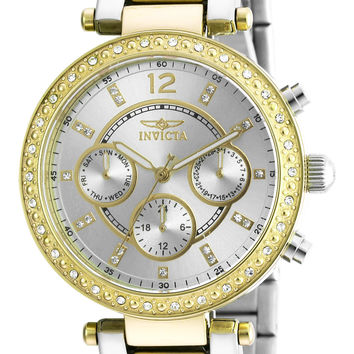 Invicta Women's 20470 Angel Two Tone Yellow Gold & Stainless Steel