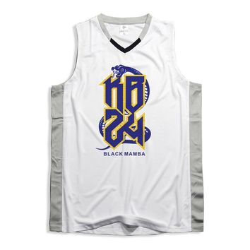 Kobe Bryant 24 & Shaquille ONeal 34 Basketball Jerseys Sports Shorts Running T Shirt Training Sportswear