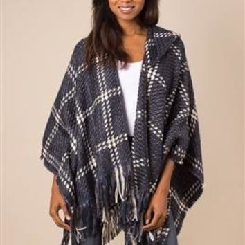 Check Me Out Hooded Wrap by Simply Noelle