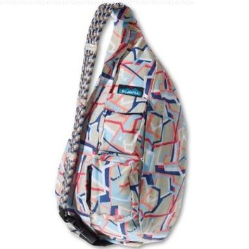 KAVU Rope Bag, Arcade Stripe