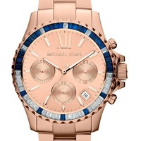 NEW MICHAEL KORS MK5755 ROSE GOLD EVEREST WATCH - 2 YEAR WARRANTY