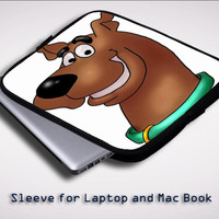 SCOOBY DOO iPad 2 3 4 Sleeve for Laptop, Macbook Pro, Macbook Air (Twin Sides)