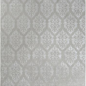 Surya Tidal Medallions and Damask Neutral TDL-1018 Area Rug