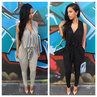 Sexy women sleeveless jumpsuits TMD16SM