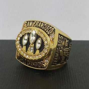 Sports Ring * 1988 San Francisco '49ers' World * Champions/... Fast Delivery!