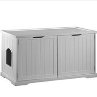 Table Storage Litter Box Cover