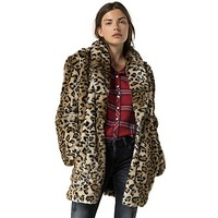 Hilfiger Denim Leopard Coat | Tommy Hilfiger USA