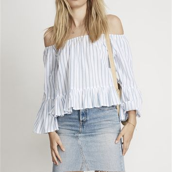 Faithfull The Brand Galle Top in Pallais Stripe