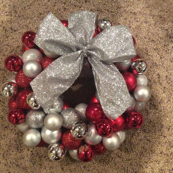 Holiday Ornament Wreath