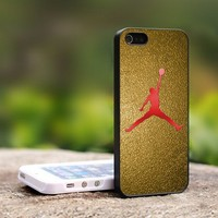 Nike Air Jordan Logo Design - For iPhone 5 Black Case Cover