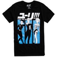Yuri!!! On Ice Victor And Yuri Grand Prix T-Shirt