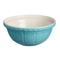 Color Mix Turquoise Mixing Bowls by Mason Cash