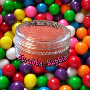Scrubba-Bubba Lip Scrub ~ 5 sizes - Hubba Bubba - Bubble Gum