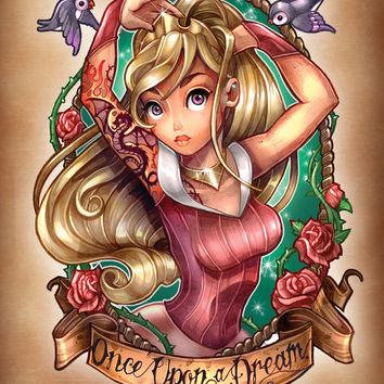 Once Upon A Dream Art Print by Tim Shumate