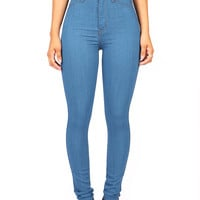 Throwback High Waist Skinnys | Trendy Jeans at Pinkice.com