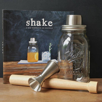 The Barware Set (with Mason Shaker)