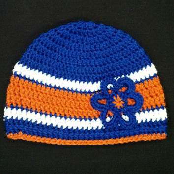 Denver Broncos Women's Winter Beanie Hat (Child and Baby sizes too)