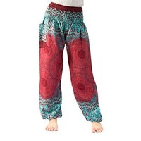 Harem Trousers Women Elephant Pants Yoga Pants Drop Trouser Bangkok Pants