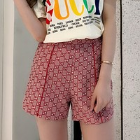 GUCCI GG High Waist Short