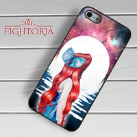 ariel little mermaid full moon-1naa for iPhone 4/4S/5/5S/5C/6/ 6+,samsung S3/S4/S5,S6 Regular,S6 edge,samsung note 3/4